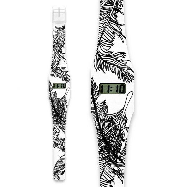 FEATHER Pappwatch / Armbanduhr aus reißfestem und wasserabweisendem TYVEK®