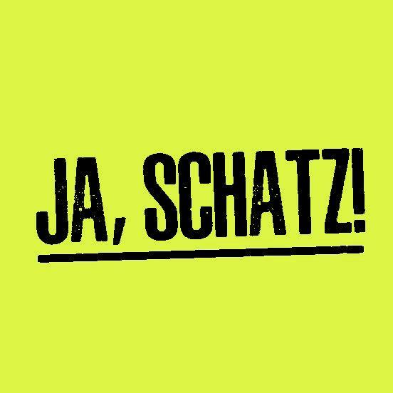 Haftnotizblock JA, SCHATZ! - 2 Blöcke à 50 Blatt