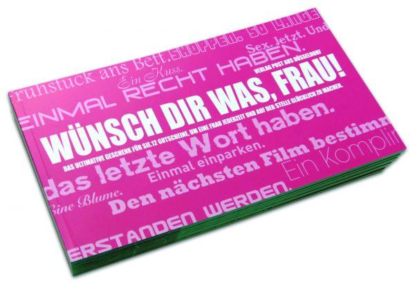 Gutscheinbuch für Frauen | WÜNSCH DIR WAS, FRAU!