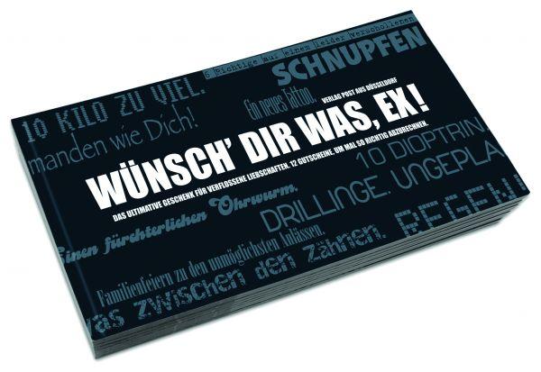 Gutscheinbuch für Verflossene | WÜNSCH DIR WAS, EX!