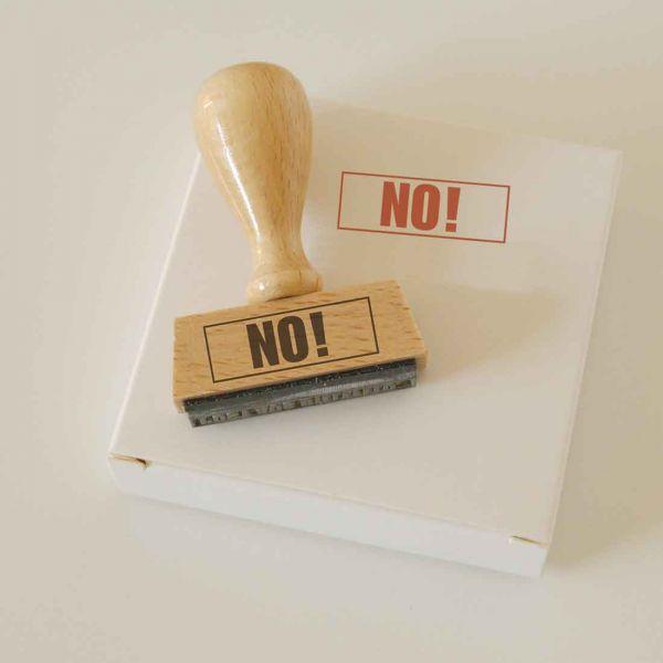 Stempel NO!
