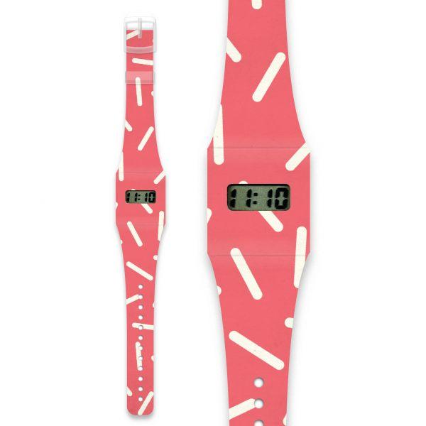 RAYO Pappwatch / Armbanduhr aus reißfestem und wasserabweisendem TYVEK®