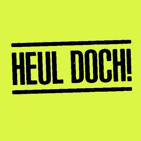 Haftnotizblock HEUL DOCH! - 2 Blöcke à 50 Blatt