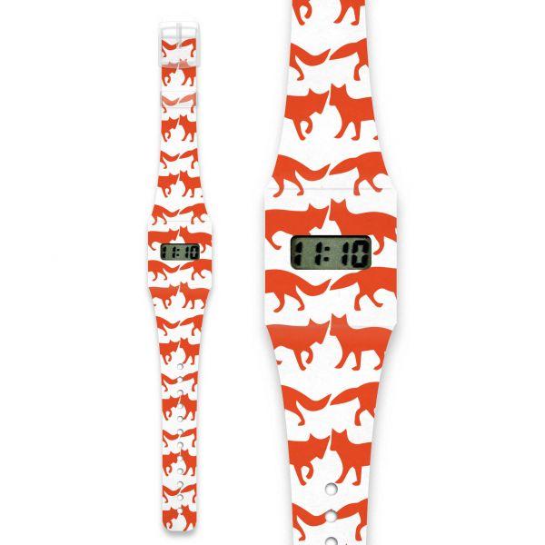 FOXES Pappwatch / Armbanduhr aus reißfestem und wasserabweisendem TYVEK®