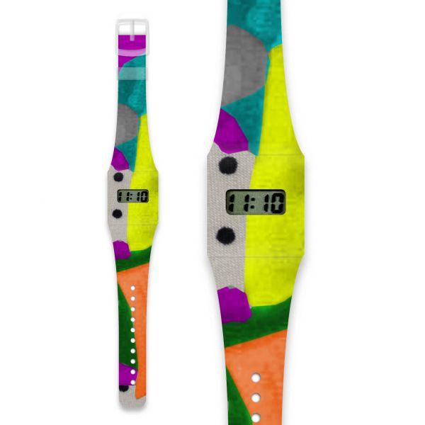 MY EYES ARE THE POINTS Pappwatch / Armbanduhr aus reißfestem und wasserabweisendem TYVEK®
