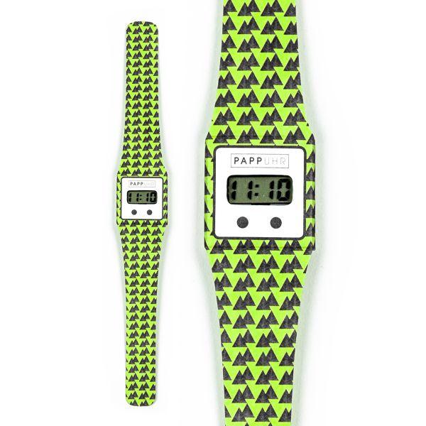 OUTZEIT Pappwatch / Armbanduhr aus reißfestem und wasserabweisendem TYVEK®