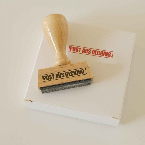 Stempel POST AUS OLCHING.