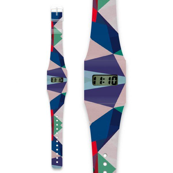 GEOMETRICAL4 Pappwatch / Armbanduhr aus reißfestem und wasserabweisendem TYVEK®