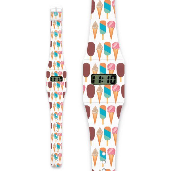 ICE ICE BABY Pappwatch / Armbanduhr aus reißfestem und wasserabweisendem TYVEK®
