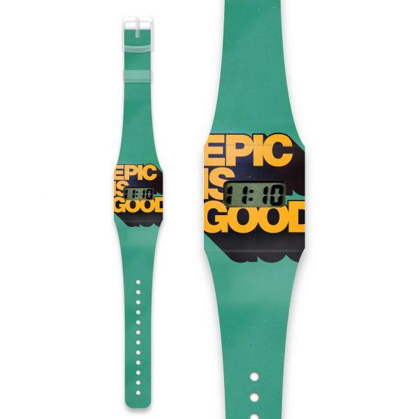 EPIC IS GOOD Pappwatch / Armbanduhr aus reißfestem und wasserabweisendem TYVEK®