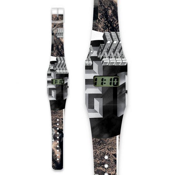 KING KONG Pappwatch / Armbanduhr aus reißfestem und wasserabweisendem TYVEK®