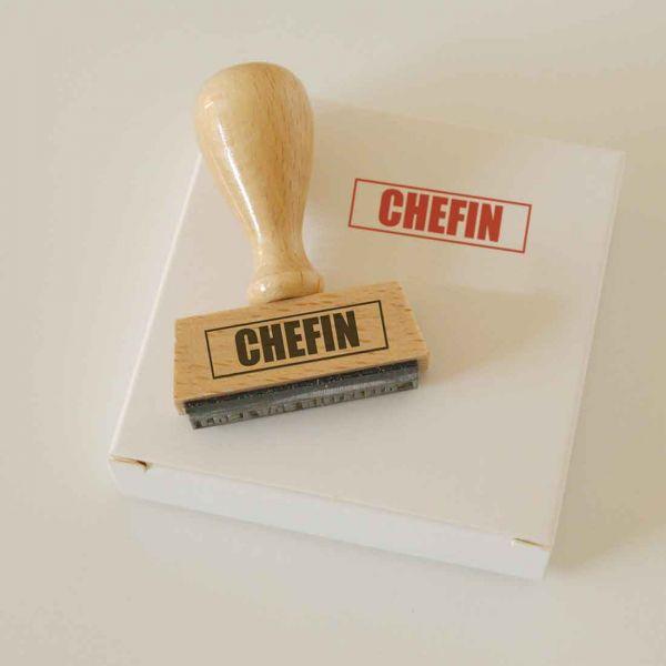 Stempel CHEFIN!