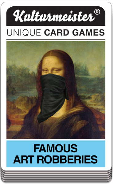 Quartett FAMOUS ART ROBBERIES