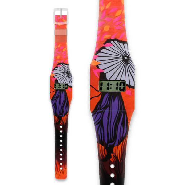 HERBSTFRAU Pappwatch / Armbanduhr aus reißfestem und wasserabweisendem TYVEK®