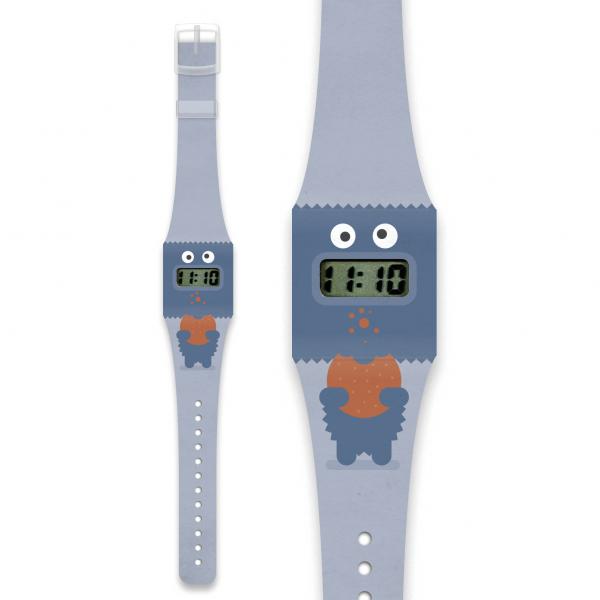 COOKIE Pappwatch / Armbanduhr aus reißfestem und wasserabweisendem TYVEK®