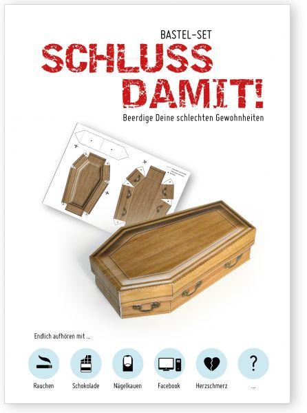 Bastel-Set SCHLUSS DAMIT!
