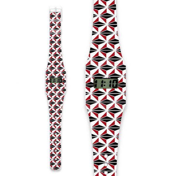 CUBE Pappwatch / Armbanduhr aus reißfestem und wasserabweisendem TYVEK®