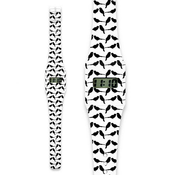 BLACK SPARROW Pappwatch / Armbanduhr aus reißfestem und wasserabweisendem TYVEK®