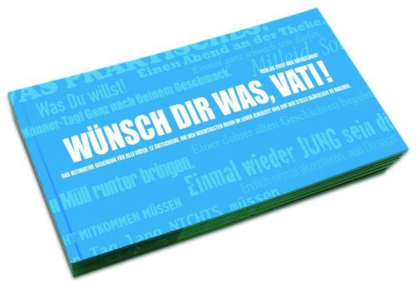 Gutscheinbuch für Väter | WÜNSCH DIR WAS, VATI!