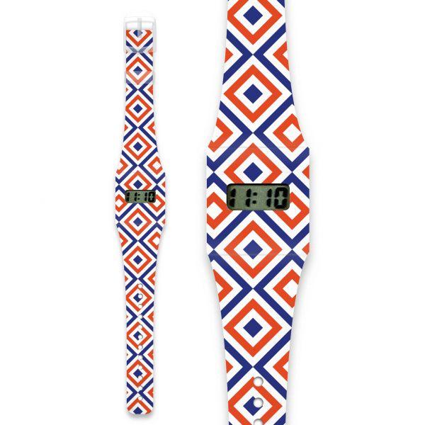 QUADRATURE Pappwatch / Armbanduhr aus reißfestem und wasserabweisendem TYVEK®