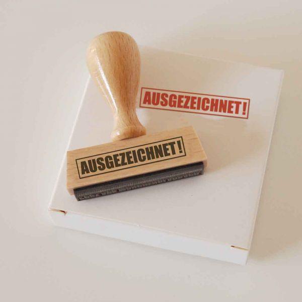 Stempel AUSGEZEICHNET!
