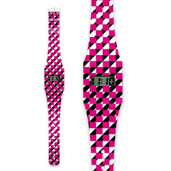 SQUARE Pappwatch / Armbanduhr aus reißfestem und wasserabweisendem TYVEK®