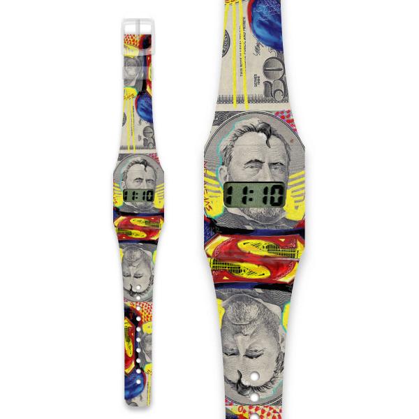 MAN OF PAPER Pappwatch / Armbanduhr aus reißfestem und wasserabweisendem TYVEK®