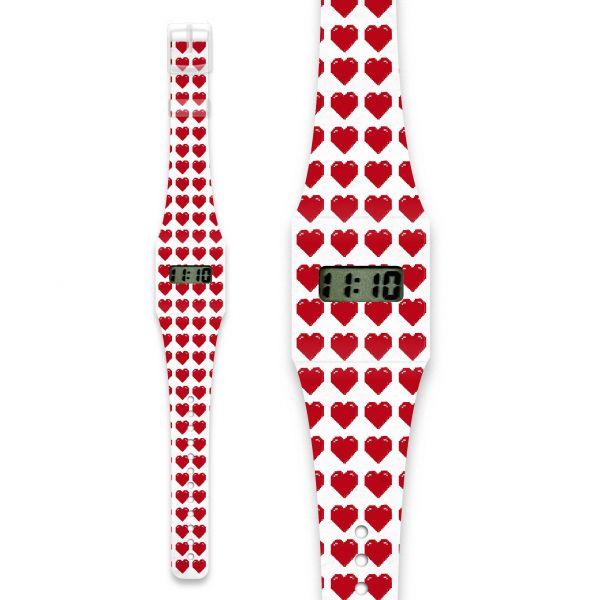 FLIRTY ATTACK Pappwatch / Armbanduhr aus reißfestem und wasserabweisendem TYVEK®